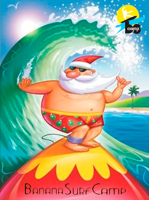 surfing-santa-claus